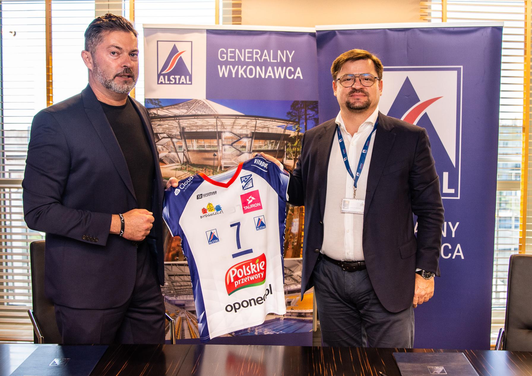 Alstal Grupa Budowlana przedłużyła współpracę z KS Pałac Bydgoszcz S.A.